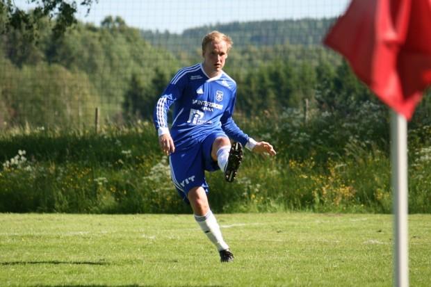 Jesper Nylund gjorde sin första match från start.