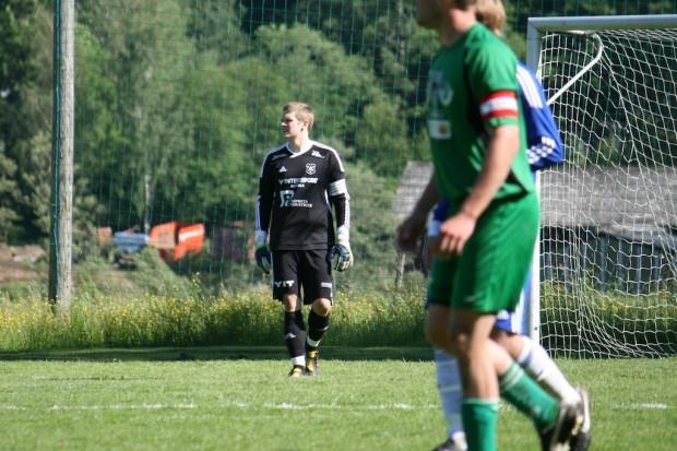 Thomas Larsson höll nollan för femte matchen i rad.