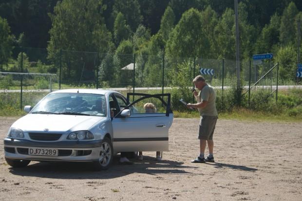 Kontrollant Lennart Eliasson har varit med sen början.
