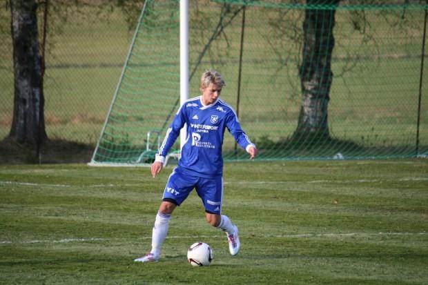 Björn Ryman låg bakom Andreas Magnussons 1-0-mål i slutet av den första halvleken.