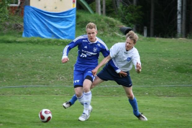 Andreas Magnusson gav Älgå ledningen med 1-0 i upptakten av matchen.