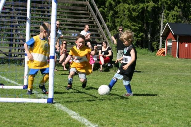 Älgå/Jössefors PF04/05 spelade en internmatch.